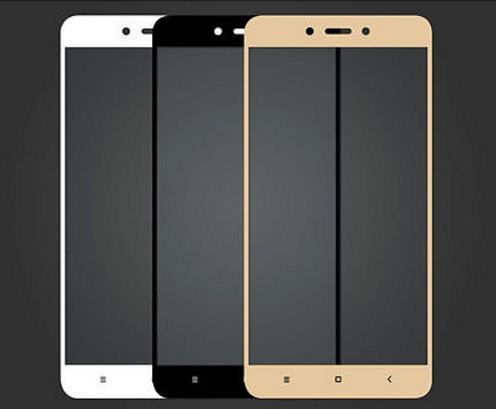 Tempered Glass FS Xiaomi Redmi Note 4X / Full Screen - Anti Gores Kaca